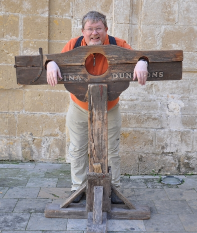 In the stocks, Malta 2011
