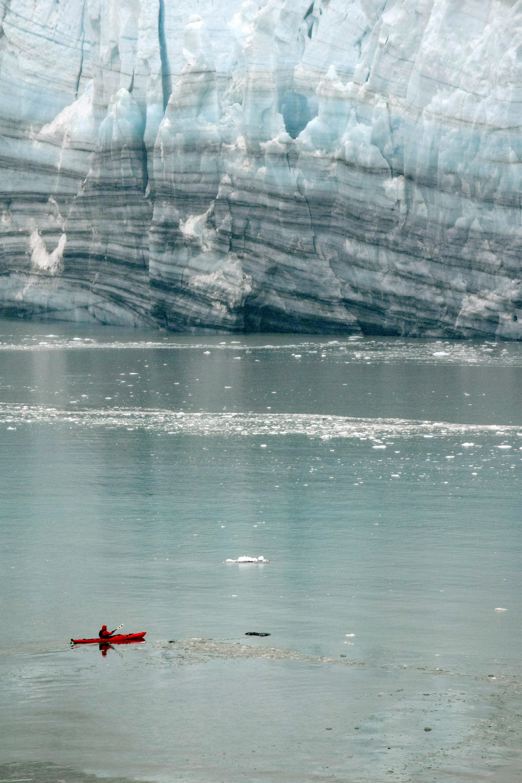 Red Canoe Blue Ice 219Glcr Bay July16edit