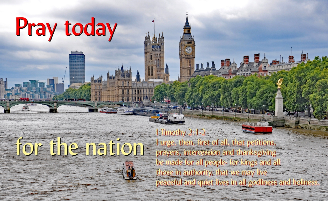 pray today for our nation