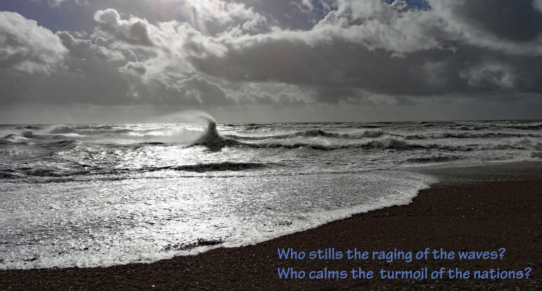 calm the seas turmoil